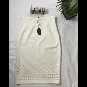 NWT Cupid White Skirt Size Medium